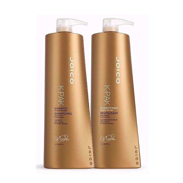 Joico K-Pak Condicionador + Shampoo 1Litro
