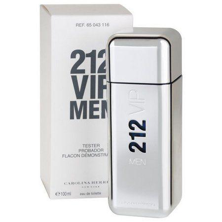 TESTER Perfume Carolina Herrera 212 Vip Masculino EDT 100ml