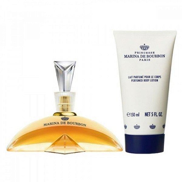 KIT Perfume Marina de Bourbon Classique Feminino 100ml + Hidratante 150ml