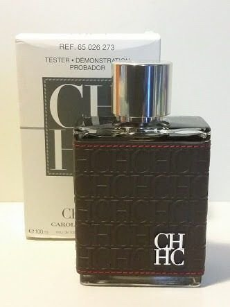TESTER Perfume Carolina Herrera CH Men Masculino EDT 100ml