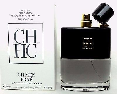 TESTER Perfume Carolina Herrera CH Men Prive EDT 100ml