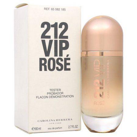TESTER Perfume Carolina Herrera 212 Vip Rose Feminino EDP 080ml
