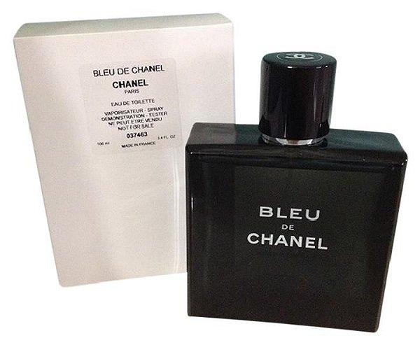 ba7096045b TESTER Perfume Chanel Bleu de Chanel Masculino EDT 100ml - Luxúria ...