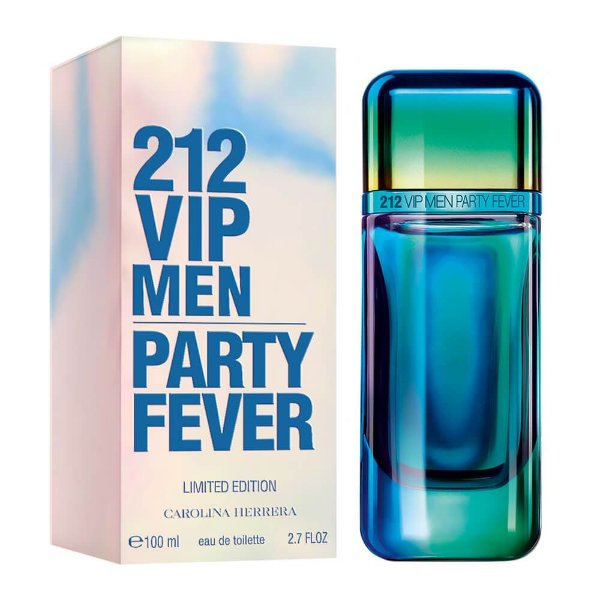 Perfume Carolina Herrera 212 VIP Masculino Party Fever EDP 100ML Edição Limitada