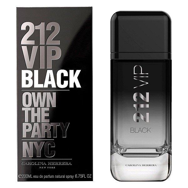 Perfume Carolina Herrera 212 Vip Black Masculino EDP 200ml