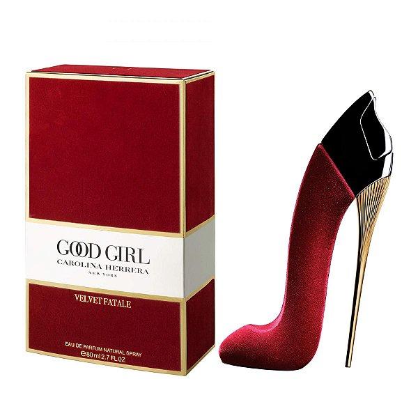 Perfume Carolina Herrera Good Girl Velvet Fatale Feminino EDP 80ml