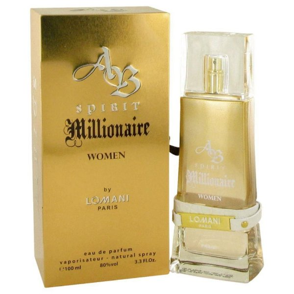 Perfume Lomani Spirit Millionaire Feminino EDP 100ml