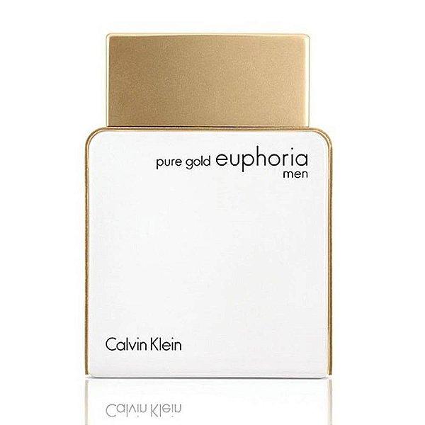 Perfume Calvin Klein Euphoria Pure Gold Masculino EDT 100ml