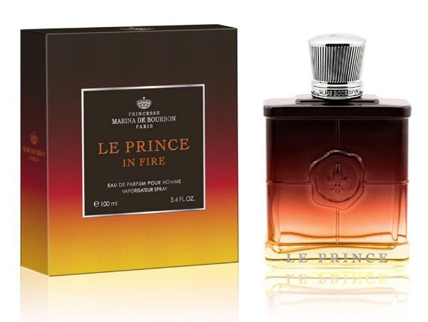 Perfume Marina de Bourbon Monsieur Le Prince in Fire EDP 100ML