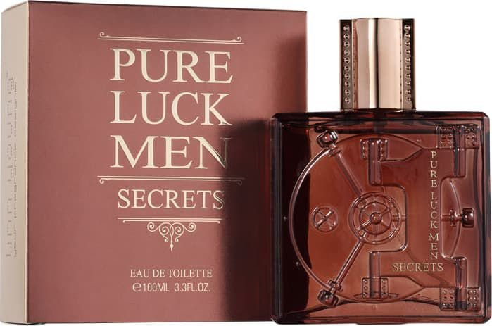 Perfume Linn Young Pure Luck Men Secrets Masculino EDT 100ML