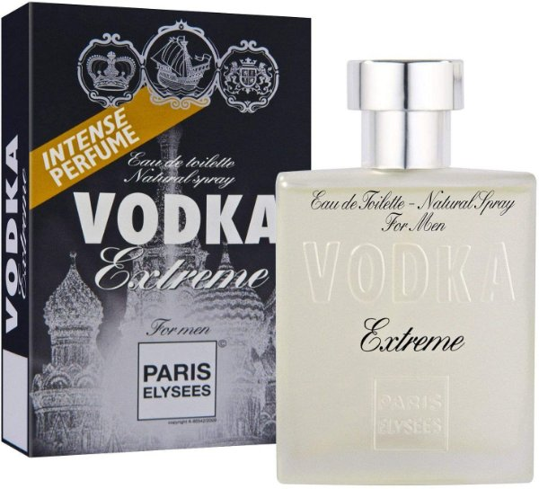 Perfume Paris Elysees Vodka For Men Extreme Masculino EDT 100ML
