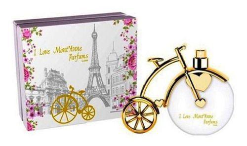 Perfume I Love Mont'anne Luxe Edp Bicicleta 100ml - Montanne