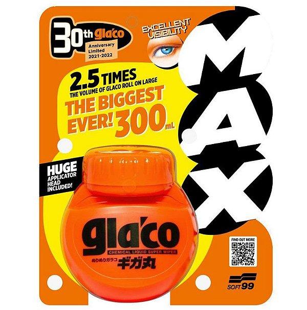 Cristalizador de Vidros Repelente De de Chuva para Para-brisas Soft99 Glaco Max 300ml - Edição Limitada