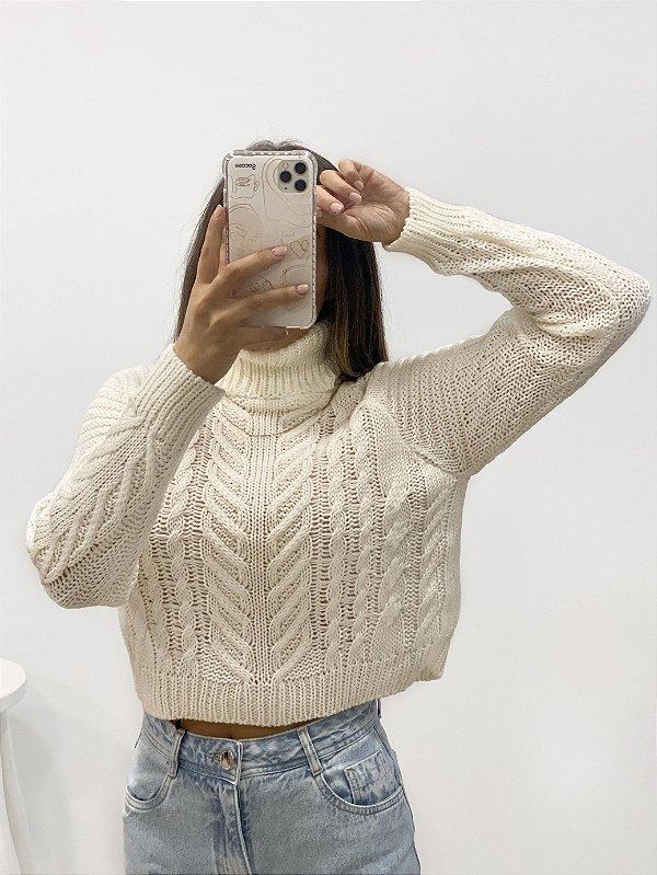 tricô alicia off white