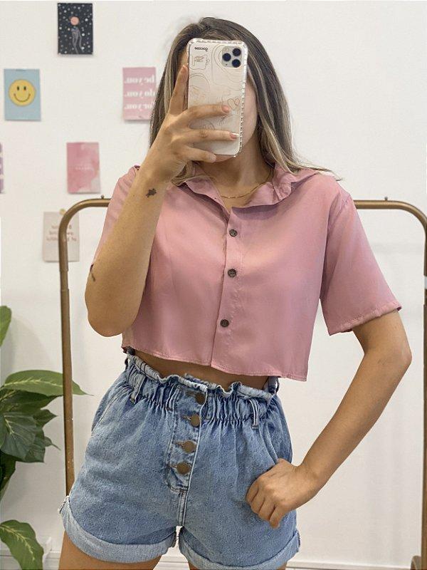 camisa cropped anne rosê
