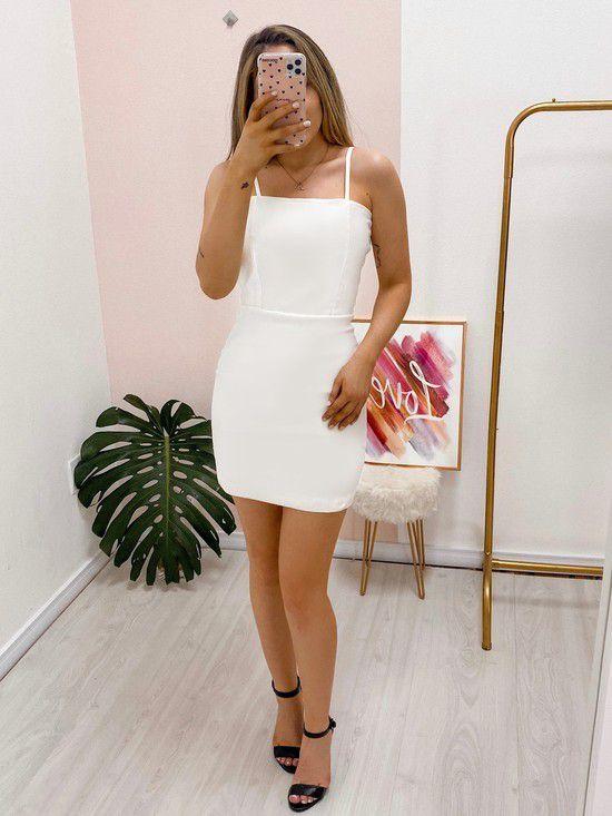vestido isabela white