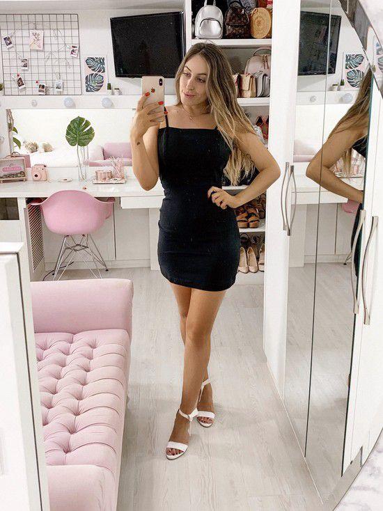 vestido isabela black