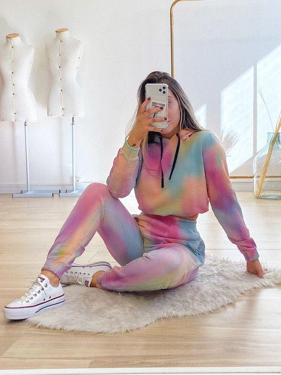 blusa moletom nice tie dye