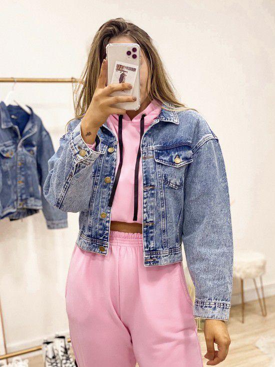 jaqueta jeans sophia