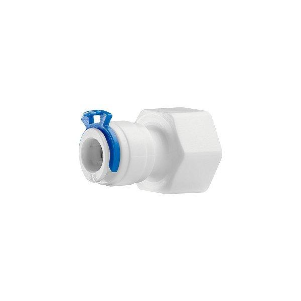 Conexão Reta C/ Engate - Rosca 1/2 P Tubo 3/8  Purificador
