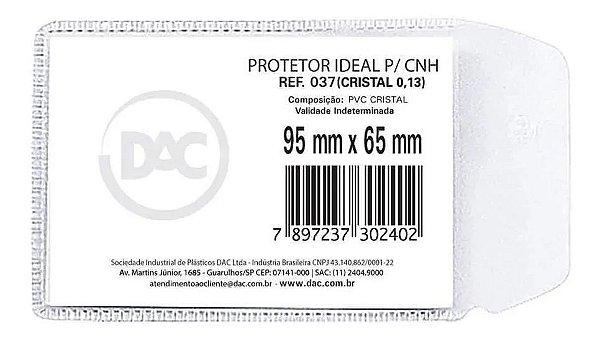 Protetor Para Cartao Habilitacao Pct C/100 - Dac