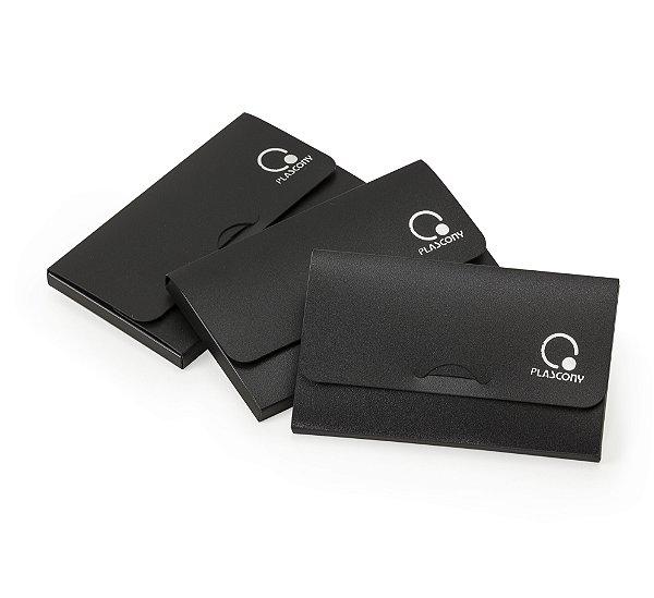 Unidade - Porta Cartao Ecoblack - Plascony