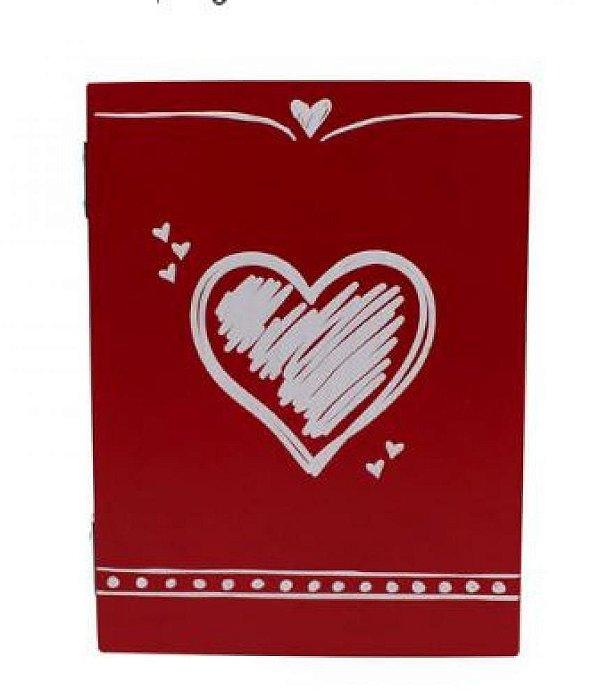 Caixa Porta Retrato Mdf Lembrancas Amor - Zona