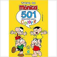 501 Desenhos P/colorir Turma Da Monica - Culturama