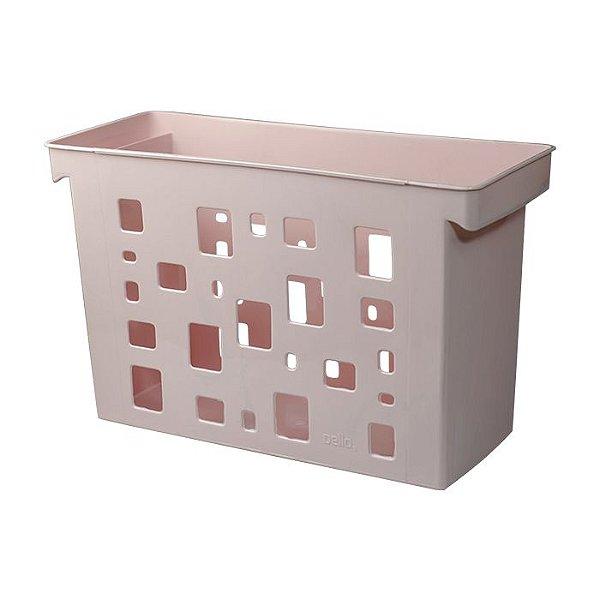 Caixa Arquivo Multiuso S/p Rosa Pastel - Dello