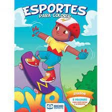 Colorir Esportes - Irados - Bicho Esperto
