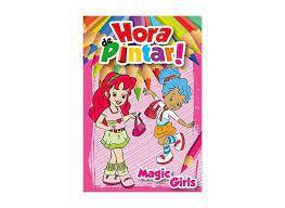 Hora De Pintar - Magic Girls - Bicho Esperto