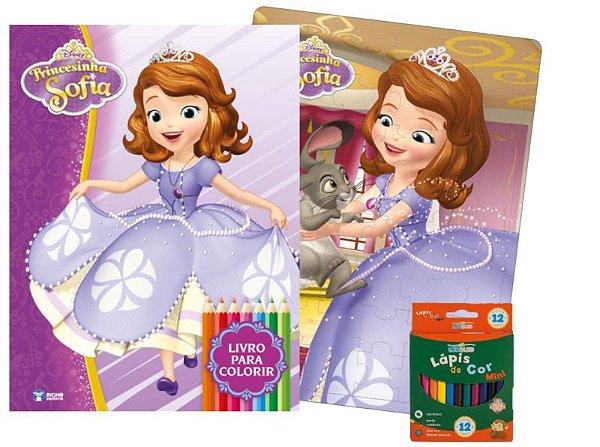 Disney Kit Diversao Princesinha Sofia - Bicho