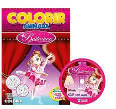 Colorir Animada - Bailarinas - Bicho Esperto