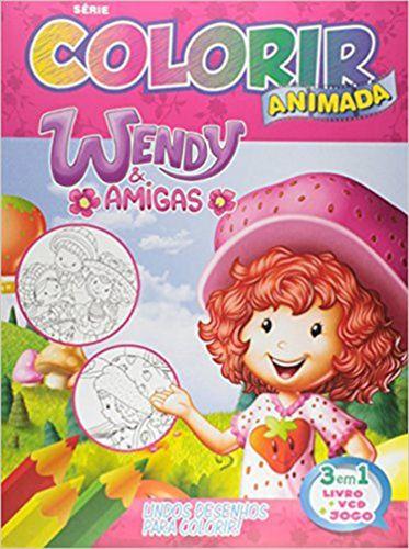 Colorir Animada - Wnedy - Bicho Esperto