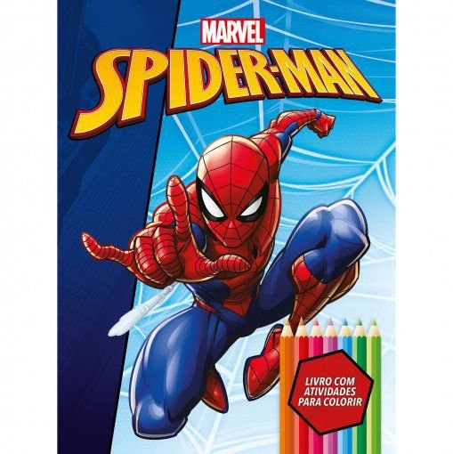 Marvel Kit Diversao Spiderman - Bicho Esperto