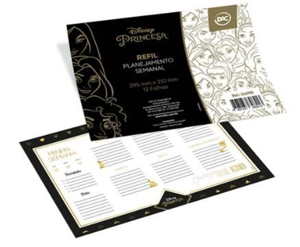 Refil P/caderno12f Anotacoes Princesas - Dac