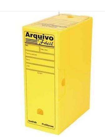 Arquivo Morto Pratico Multionda Amarelo - Alaplast