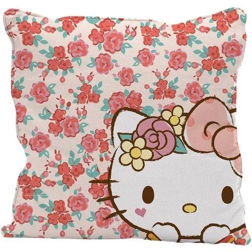 Capa Almofada 45x45 Hello Kitty Rosa - Urban
