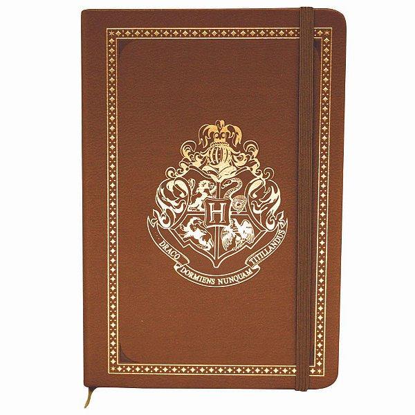 Caderno De Anotacoes 21x14 Cm Hogwarts - Zona