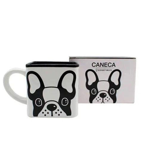 Caneca 300ml Cubo Bulldog - Zona