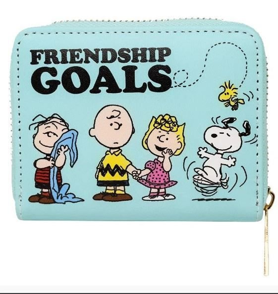 Carteira 11,5x9,5cm Friendship Goals - Zona