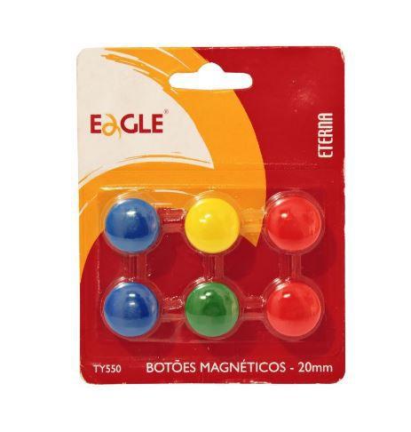 Botao Magnetico 20mm Sortidos - Cis