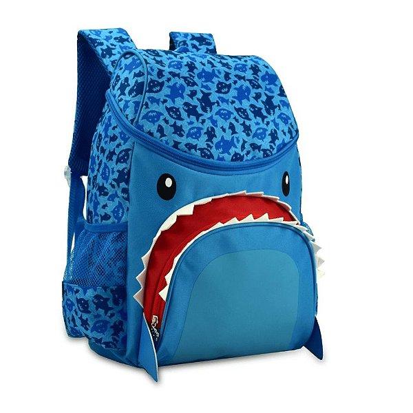 Mochila Costa Super Pets Tubarao Azul - Clio