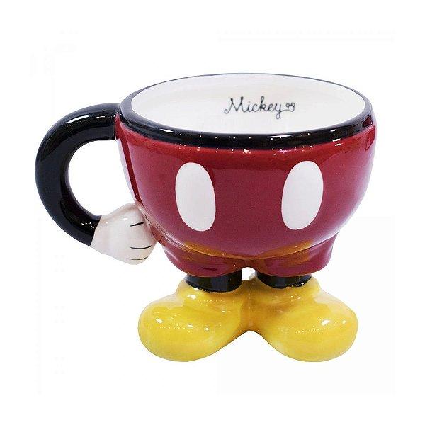 Vaso 3d Corpo Mickey - Mileno