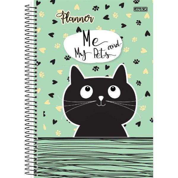 Planner Esp 96f Permanente Me And My Pets - Sd