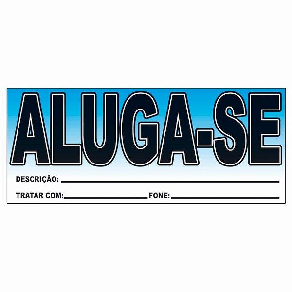 Unidade - Placa Comercial Aluga-se - Bahia Artes