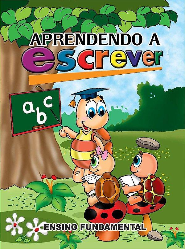 Livro 64f Fund Aprendendo A Escrever - Bahia Artes