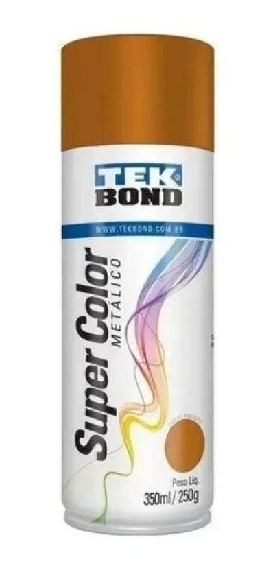 Tinta Spray 350ml Supercolor Cobre Metal - Tekbond