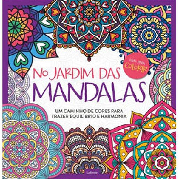 Livro Jardim Das Mandalas Ed 2 - Lafonte