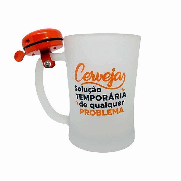 Caneca C/campainha 650ml Solucao Temporaria - Zona